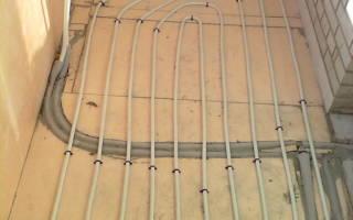 Теплый пол на лоджии от центрального отопления