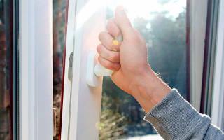Что делать если пластиковое окно открылось неправильно