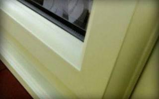 Как почистить пластиковые окна от желтизны