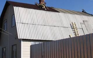 Как покрыть крышу шифером своими руками