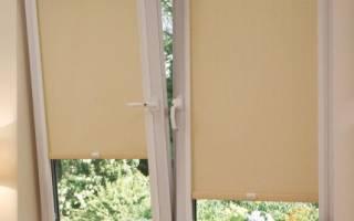Как собрать рулонную штору с леской?