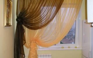 Как красиво завязать шторы узлом?